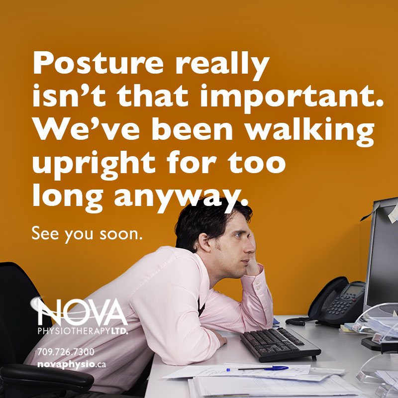 Posture really isn't that important.